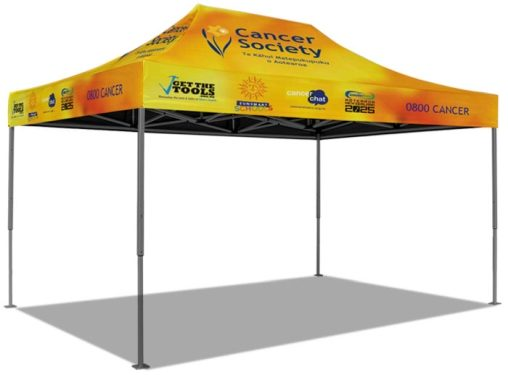 Cancer society marquee