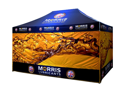 Morris Lubricants Printed Marquee