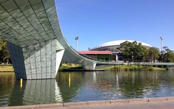 Adelaide Oval and bridge